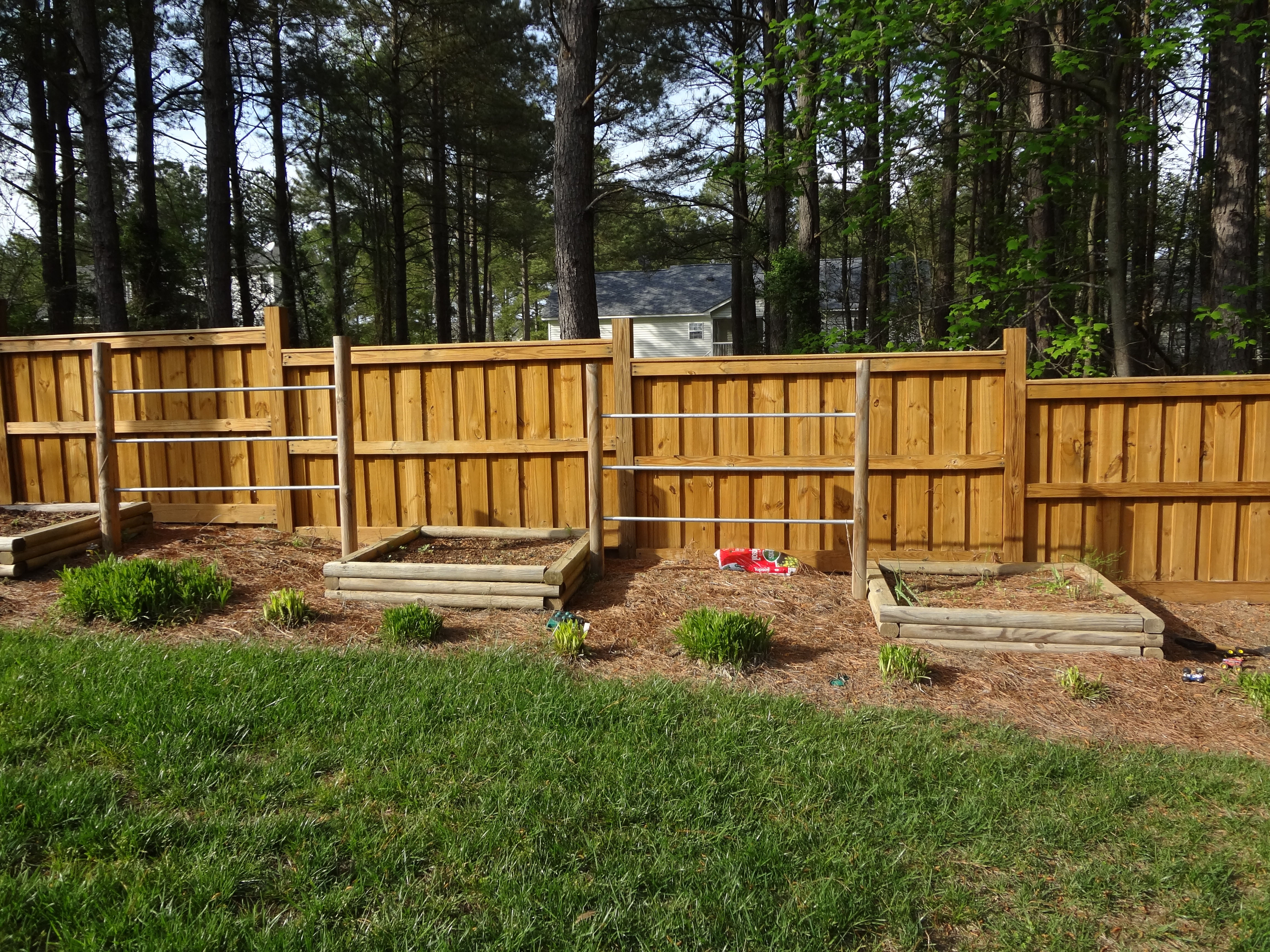 Fence and Garden Boxes   Grace Construction, Inc.
